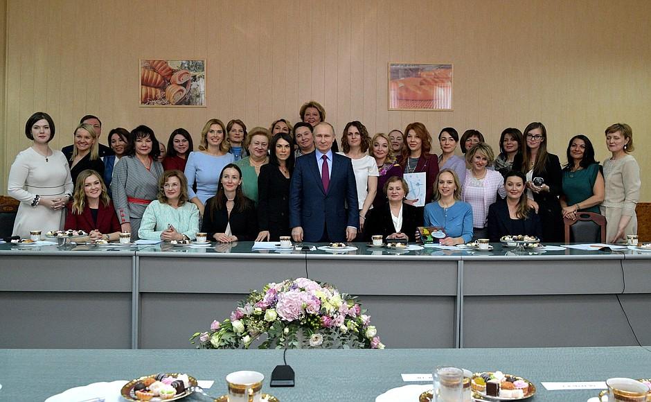 «Экзоскелет» !! Перечень поручений по итогам встречи с женщинами-предпринимателями